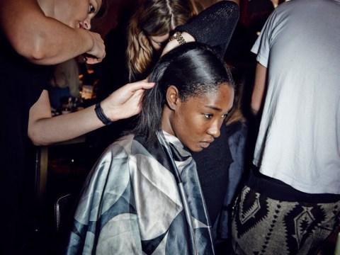 Gallery: London Fashion Week – Backstage at Thomas Tait SS14