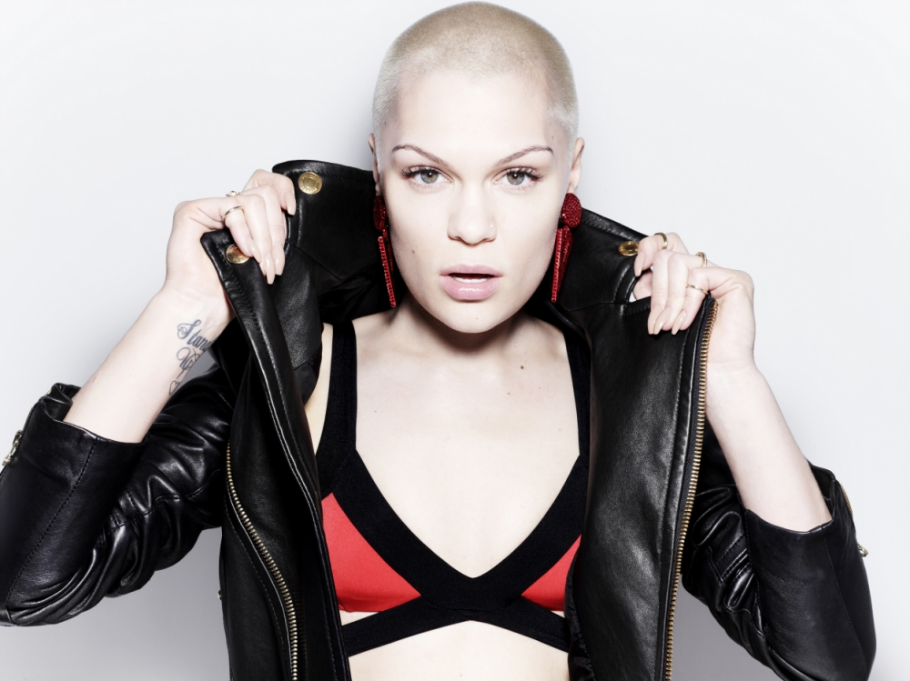 Jessie J's fearless personality could come across more on her new album, Alive (Picture: Rankin)