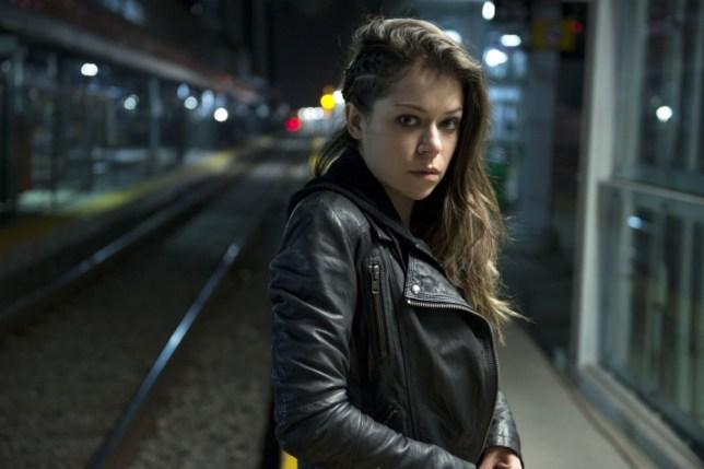 Tatiana Maslany plays Sarah in Orphan Black (Picture: Christos Kalohoridis)