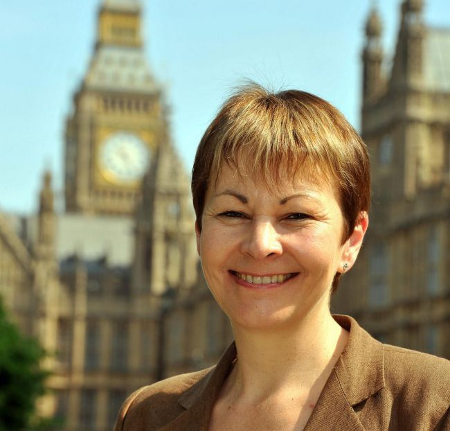 Caroline Lucas the new MP for Brighton Pavilion, outside the Houses of Parliament. PRESS ASSOCIATION Photo. Picture date: Tuesday May 18, 2010. See PA story POLITICS MPs. Photo credit should read: John Stillwell/PA Wire