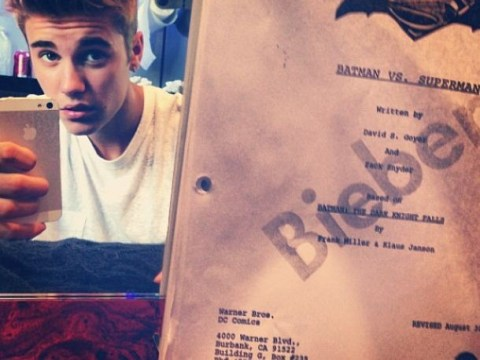 Justin Bieber hints at Robin role in Batman v Superman