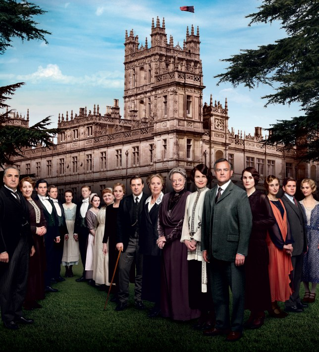 The new series of Downton kicked off on Sunday (Picture: ITV)