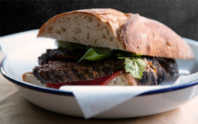Steak sandwich (Picture: Robert Simons)