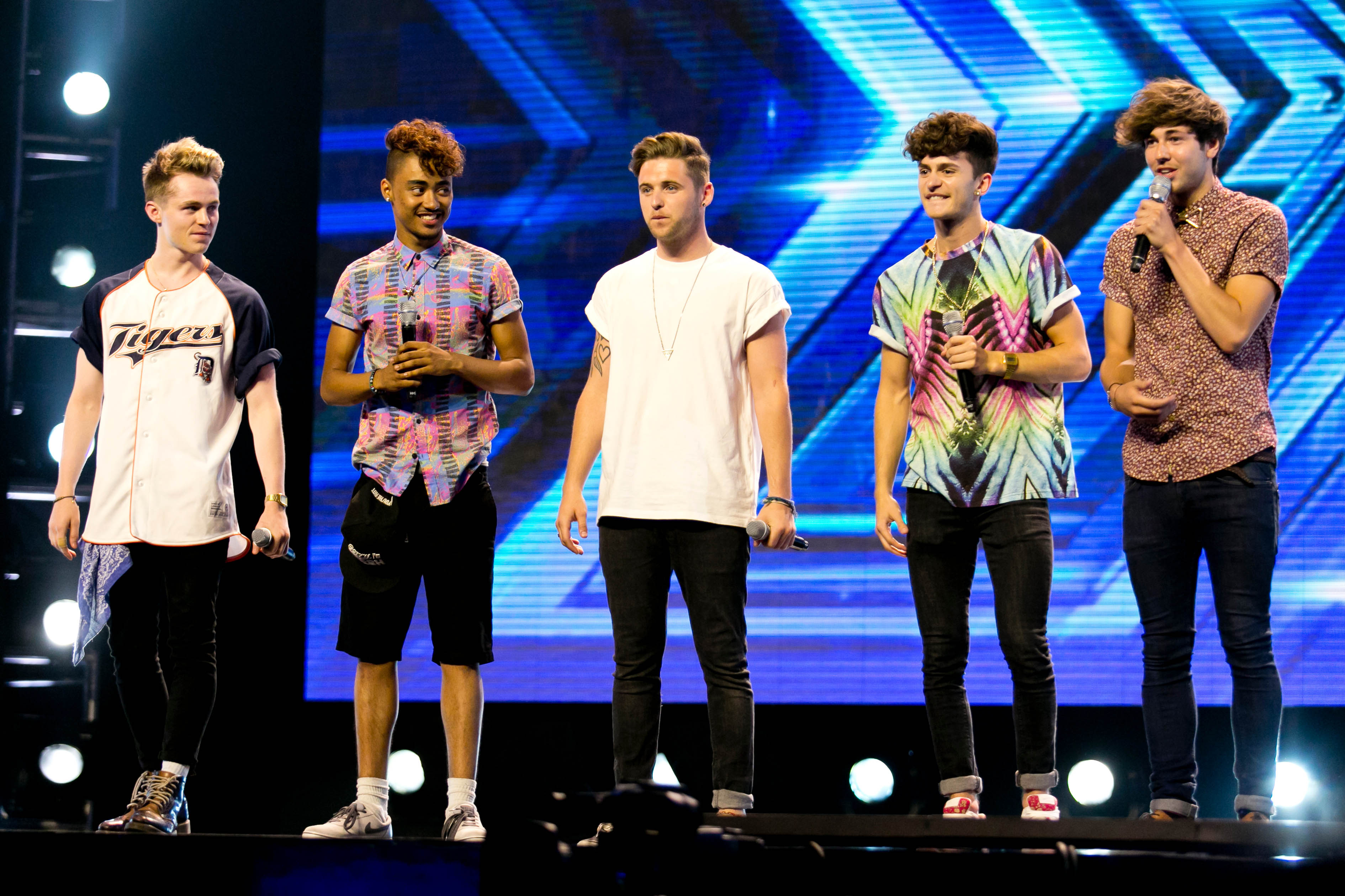 On a roll: The boys of Kingsland (Picture: TV)