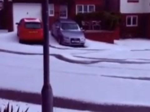 Freak hailstorm turns Cornwall town into winter scene – 24 hours after heatwave