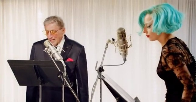 Tony Bennett has confirmed he will be releasing his joint jazz album with Lady Gaga in January (Picture: YouTube)