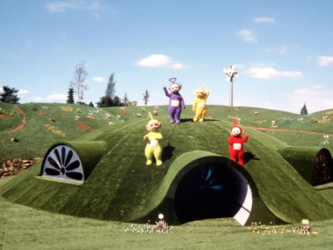 Teletubbies say Uh Oh:  Farmer floods Dipsy, Laa-laa, Tinky Winky and Po's home to deter tourists