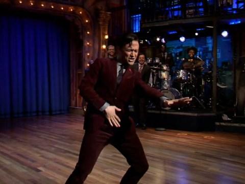 Joseph Gordon-Levitt crushes lip sync competition with Superbass performance on Jimmy Fallon