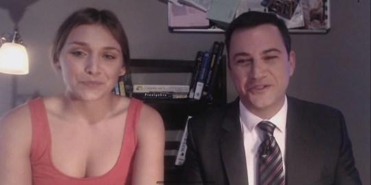 Jimmy Kimmel in epic twerking fail Youtube video hoax Caitlin Heller Daphne Avalon