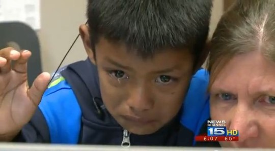 Jenri Rivera video: Emotional moment deaf boy hears for the first time