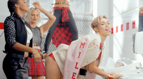 Miley Cyrus reveals raunchy 23 video: 'Good things come to those who wait'