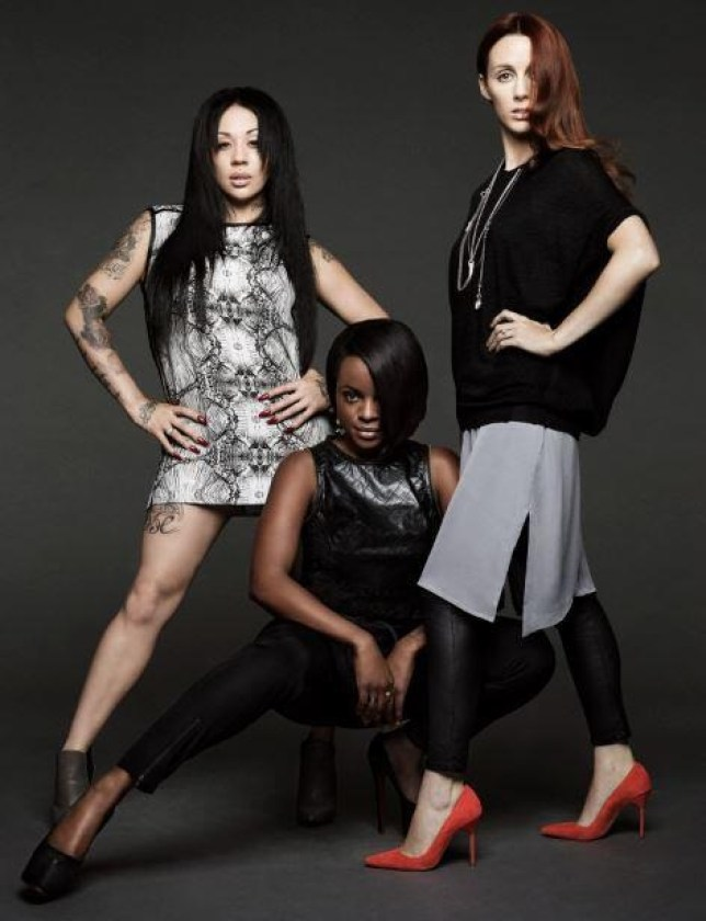 MutyaKeishaSiobhan will be releasing Flatline earlier than first announced (Picture: Twitter/MKS)