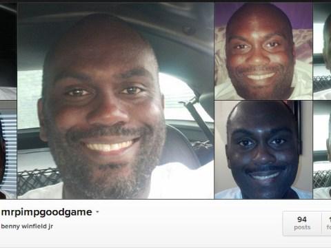 Introducing MrPimpGoodGame, master of the Instagram selfie