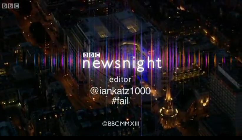 LolKatz: Newsnight editor Ian Katz mocked on show's end credits for his Labour MP 'fail'