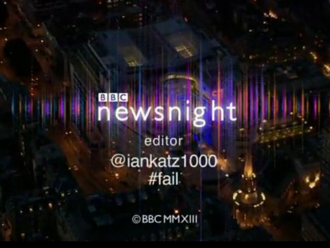 LolKatz: Newsnight editor Ian Katz mocked on show's end credits for his Labour MP 'fail'