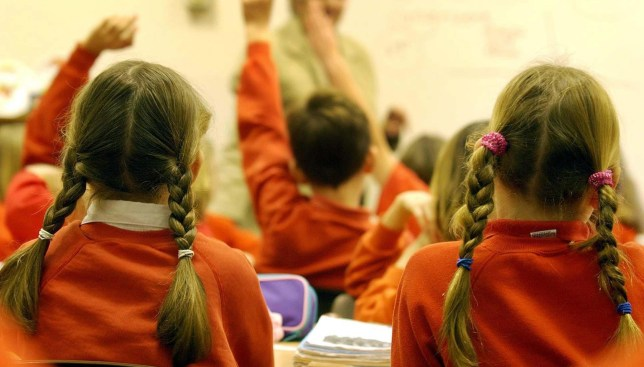Some children are starting school in nappies (Picture: PA)
