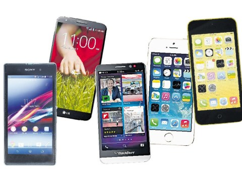 Apple, Sony and BlackBerry: The battle of the smartphones