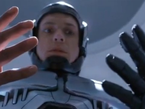 'Dead or alive, you're coming with me': First Robocop remake trailer lands
