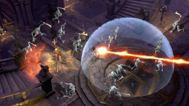 Diablo II (360) - sofa entertainment