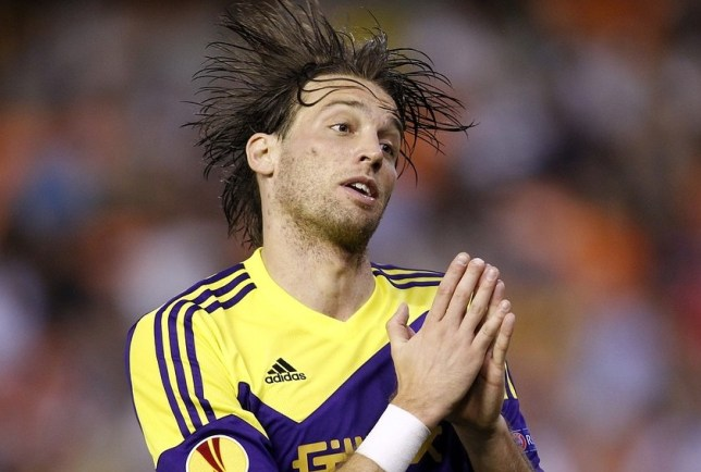 Michu has landed a first shot at the Spain team (Picture: AP)