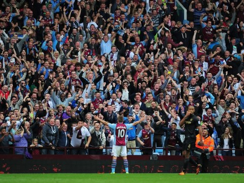 Aston Villa fans asked if they want a return to standing on the Holte End