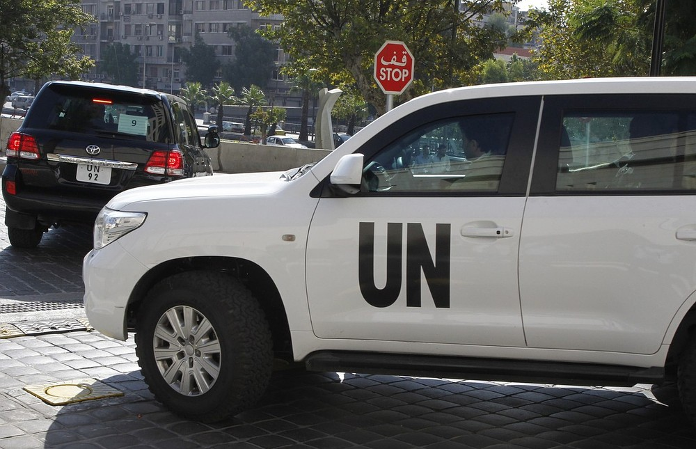 UN begins destruction of Syria's chemical weapons stockpile