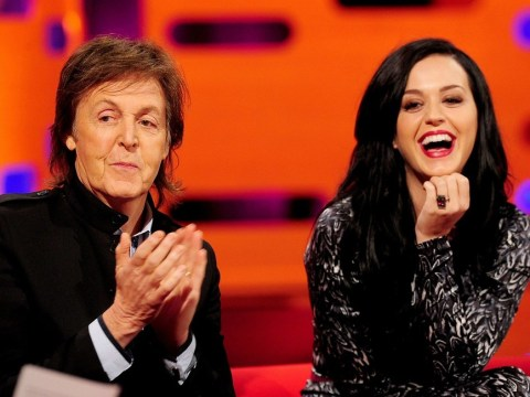 Katy Perry tells Graham Norton: I like to stay covered up now