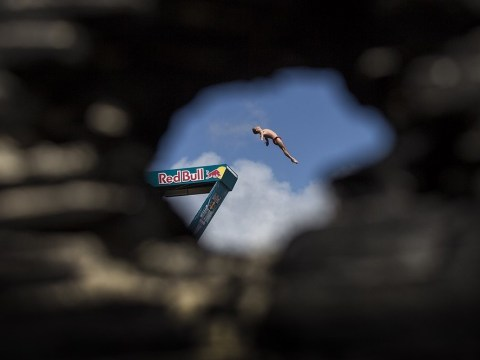 VIDEO: The Red Bull Cliff Diving World Series as you've never seen it before
