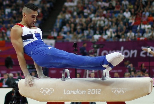 British gymnast Louis Smith in action at the Olympics last year (Picture: AP)