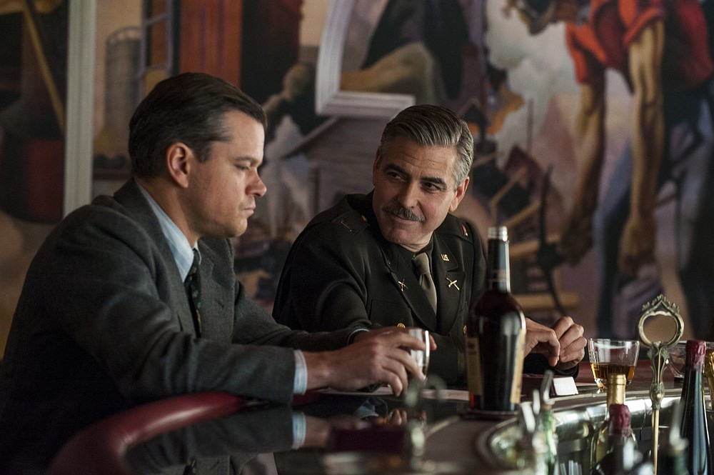 George Clooney and Matt Damon reunite for more heists and hijinks in The Monuments Men