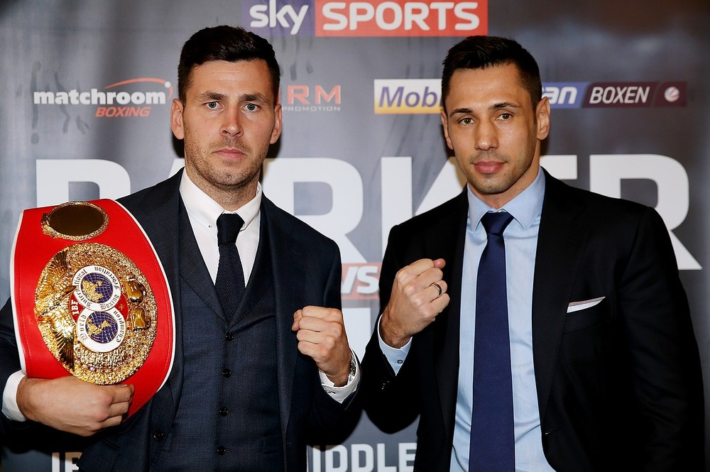 Darren Barker happy to make first defence of his IBF middleweight title in Germany against Felix Sturm