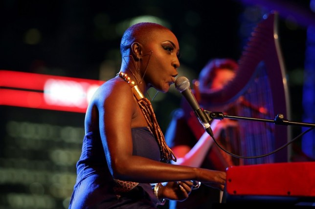 Laura Mvula doesn't worry about her appearance (Photo: Getty)