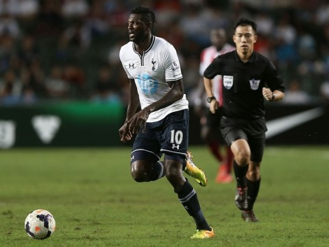 Emmanuel Adebayor could feature against Sheriff, reveals Spurs boss