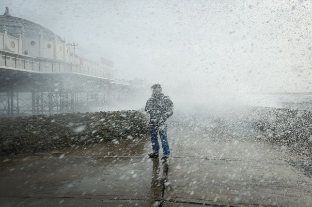 Storm St Jude: Commuter misery as Southern Railway and Greater Anglia cancel rush hour trains