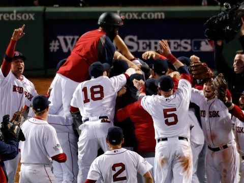 Liverpool FC owner John W Henry's delight as his Boston Red Sox claim World Series