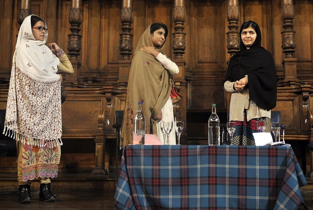 Malala Yousafzai meets friends also injured in Taliban shooting one year after attack