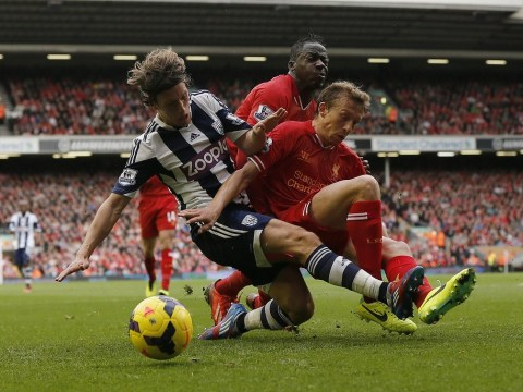 Lucas Leiva proved he has a Liverpool future against West Brom