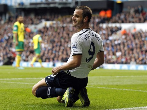Roberto Soldado pledges to provide the goals to take Tottenham into the Champions League