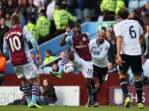 Christian Benteke's return buoys Paul Lambert despite Aston Villa's defeat to Tottenham