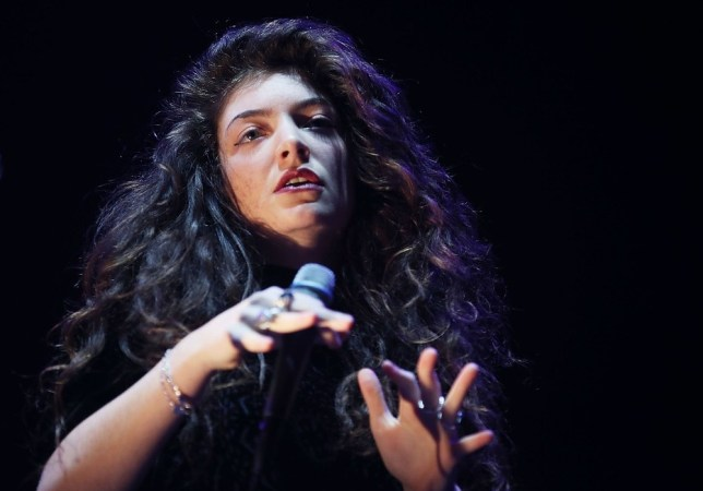 Lorde shot down a cheap joke about being a lesbian (Picture: Getty Images)
