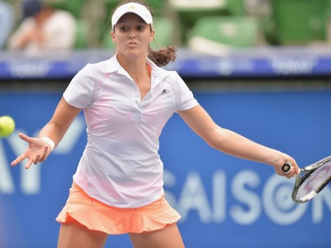 Laura Robson knocked out of Japan Open by veteran Kimiko Date-Krumm