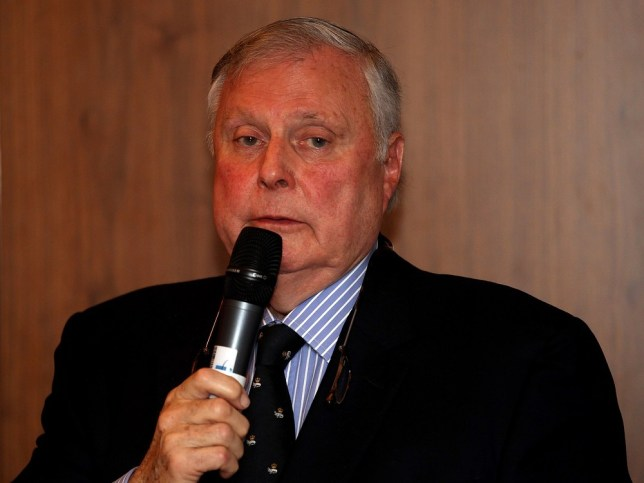 LONDON, ENGLAND - DECEMBER 15: Peter Alliss, golf commentator, addresses the room during the European Tour Golfer of the Year Luncheon at the Royal Lancaster Hotel on December 15, 2011 in London, England. Getty Images