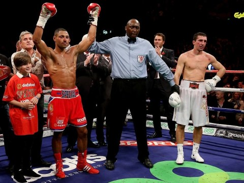 Kell Brook wants domestic showdown with Amir Khan after IBF eliminator victory