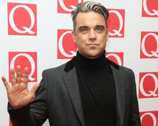 Robbie Williams thinks Miley Cyrus will end up in rehab (Picture: AP)
