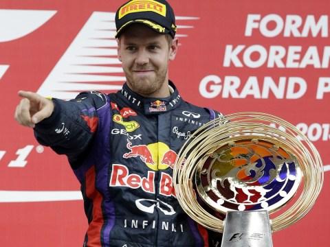 Sebastian Vettel wins Korean Grand Prix to stretch his lead at the top of the Formula One championship