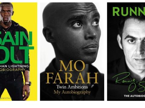 Books about running: Usain Bolt, Mo Farah and Ronnie O'Sullivan tackle a common theme