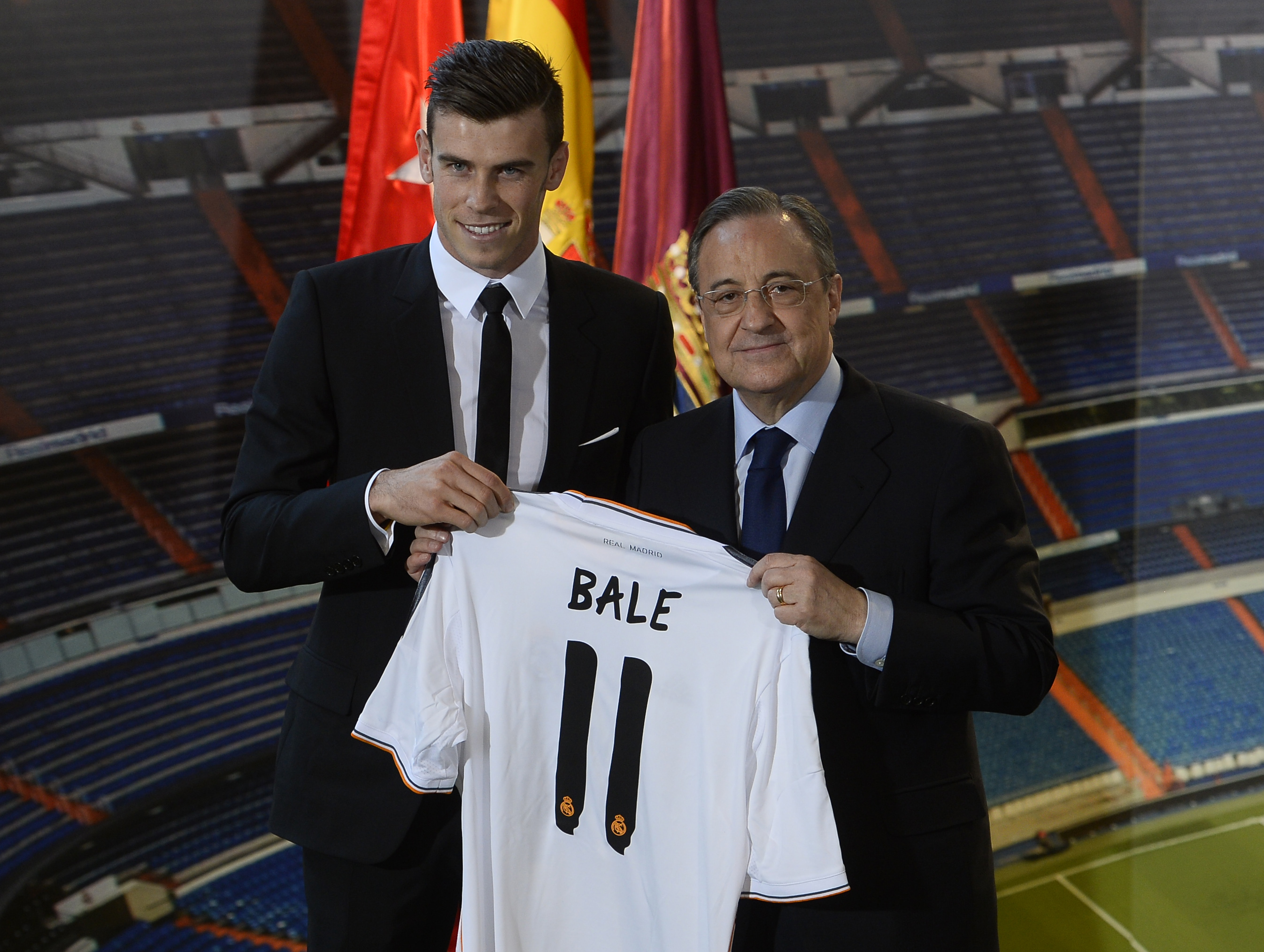 Gareth Bale was not the most expensive player in world, says Florentino Perez