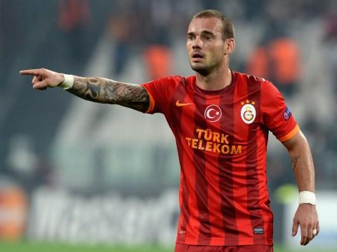 Chelsea want to sign Wesley Sneijder, reveals Holland boss Louis van Gaal