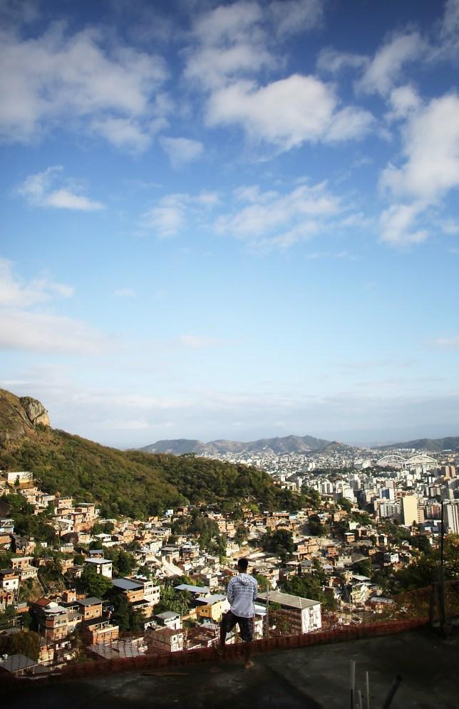 Crime rates are up in Rio de Janeiro (Picture: Getty)