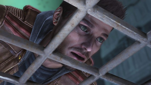 Flashback (PS3) – we had this same face throughout the game